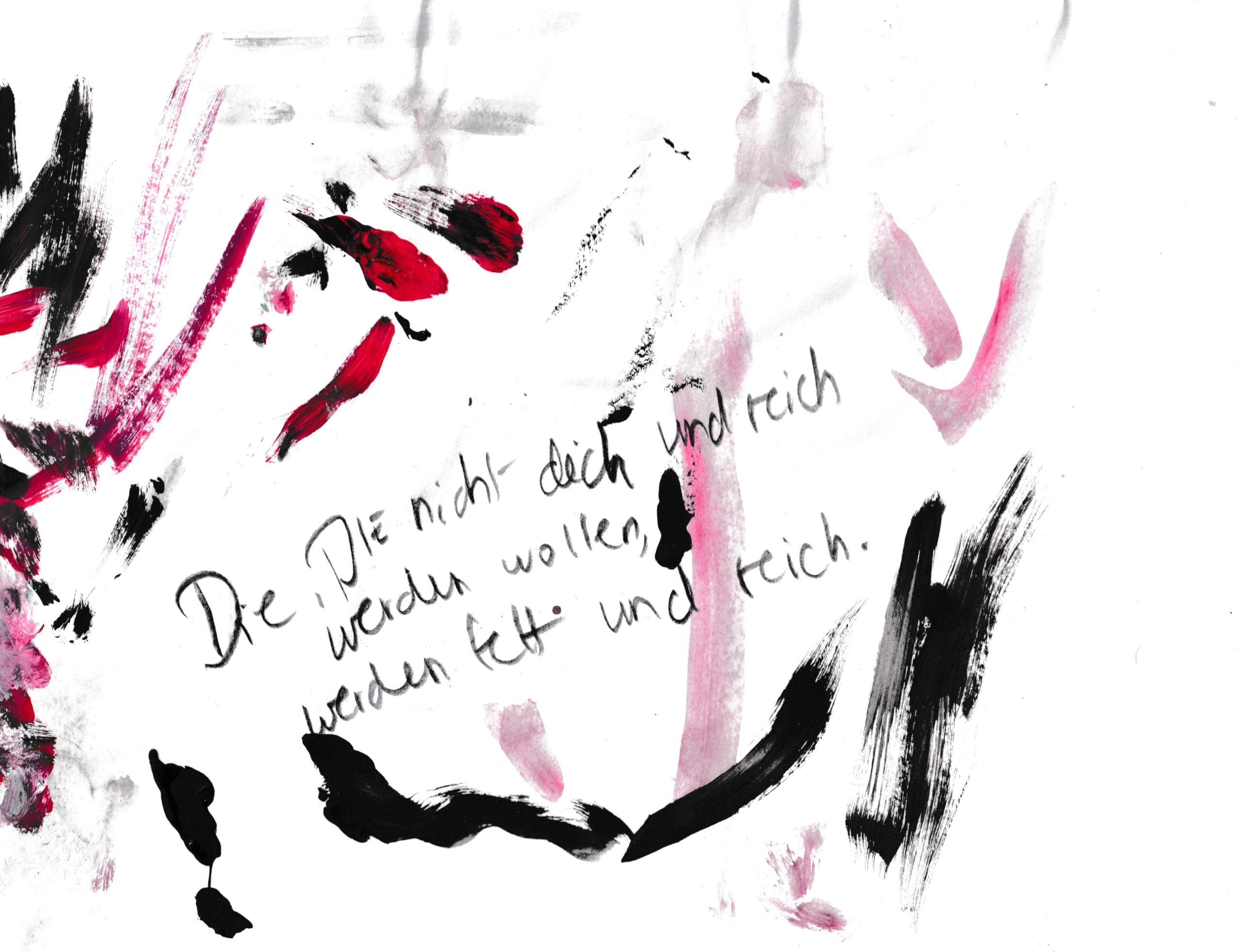 Prognose Beiwerk, Bleistift und Acryl auf Papier, 15,5cmx21cm, 2020 by Melissa Hermann