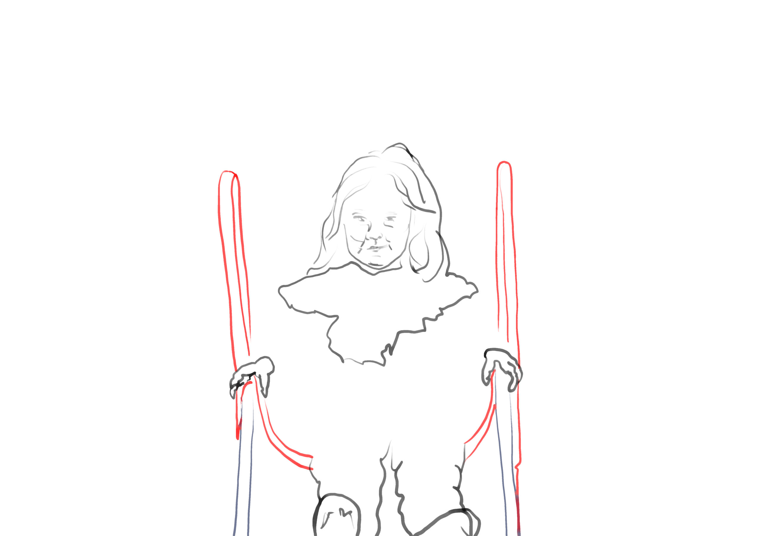 Ariane Karwotka, nanie trohnt, digitale Zeichnung/ pc-print, 42 x 29,7 cm, 2020
