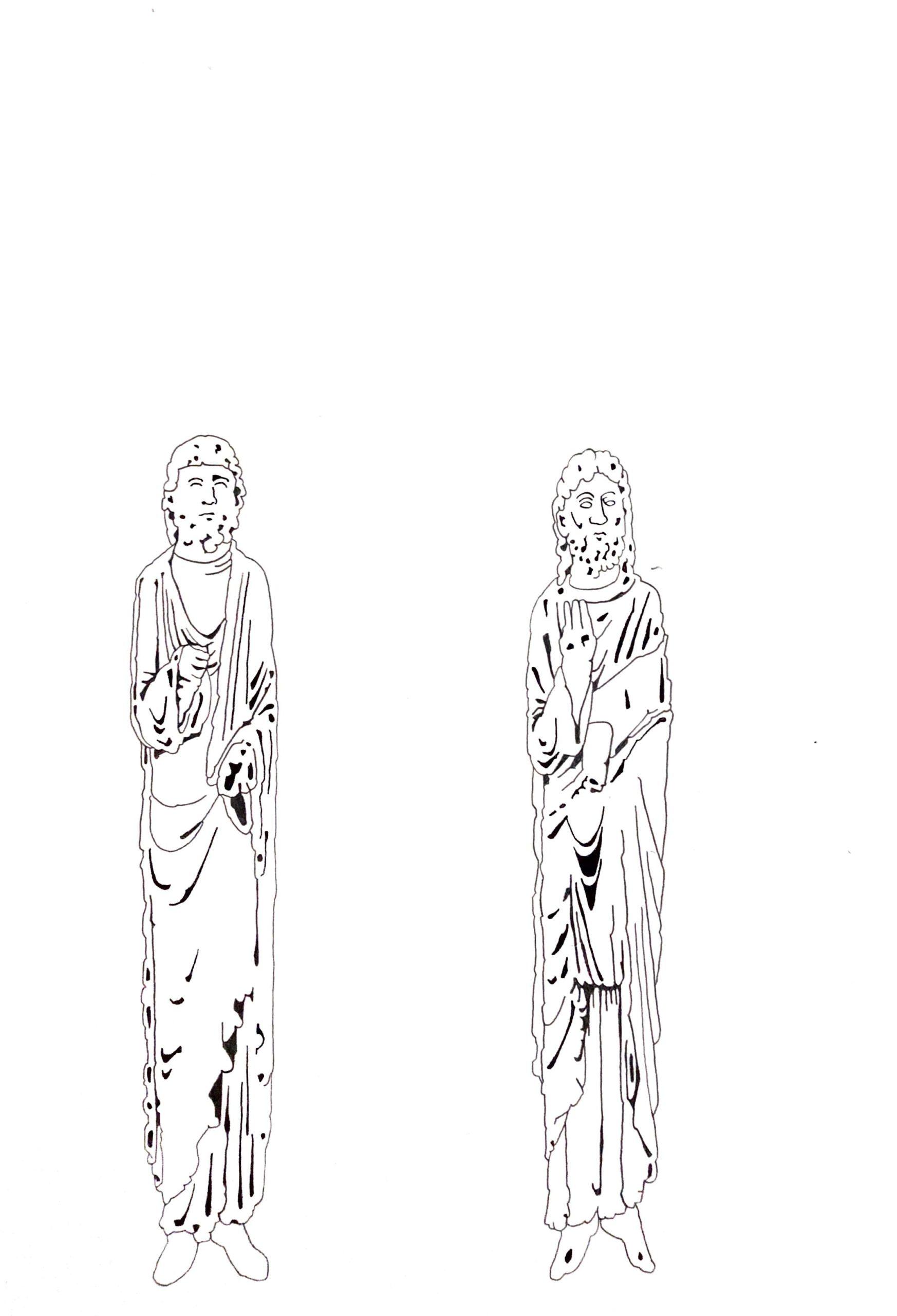 Matthias Huber, keep distance: Lehre I, Graphit auf Papier, 21x29,7cm, 2020